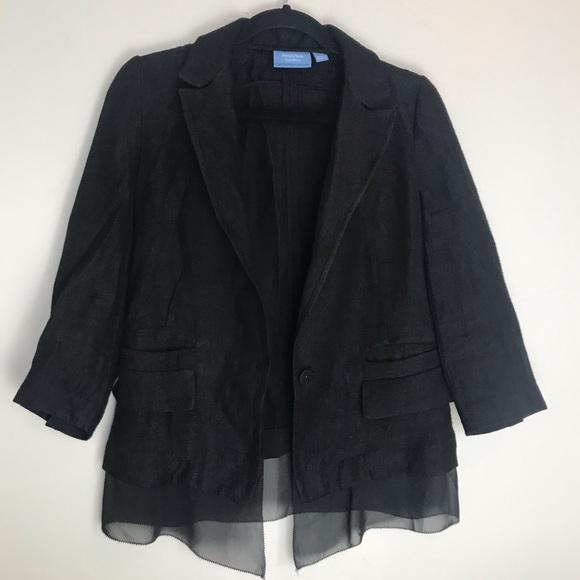 Simply Vera Vera Wang Jackets & Blazers - Simply Vera by Vera Wang Lagenlook blazer